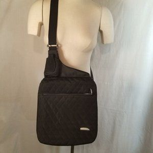 Travelon  Pocketbook Black Organizer Crossbody